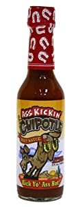 Ass Kickin Chipotle Hot Sauce - The Ass Kickin Chipotle Hot Sauce Is A Hardy Hot Sauce That Showcases Its Mexican Smoke-dried Jalapeno Flavor This Flavor Is Sure To Spice Up Your Next Southwestern Style Dish by Southwest Specialty Food