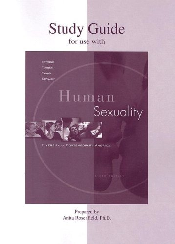 Student Study Guide t/acc Strong, Hum Sex 6e: Diversity...