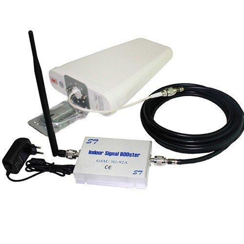 Sunsky GSM 900 & 3G Dual-Band-Verstärker bis 300m2 - verbessert sowohl die 2G / 3G Mobilfunkabdeckung auf einmal