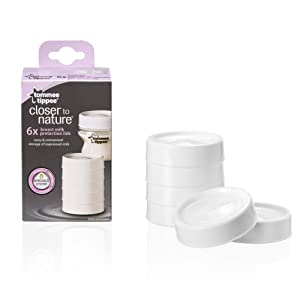 Tommee Tippee Storage Lids, 6-Count