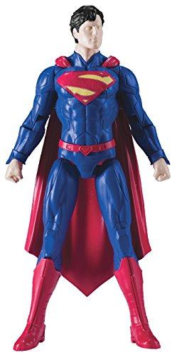 SpruKits DC Comics New 52 Superman Action Figure Model Kit, Level 1