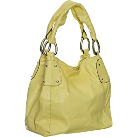 Yellow Oversized Slouchy ''Kacie'' Tote