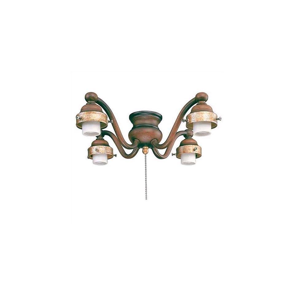 Minka Aire K9404 BCW Ceiling Fan Light Kit in Belcaro Walnut