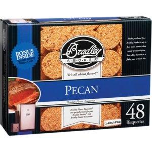 Brand New Bradley Smoker Bisquettes, Pecan 48Pk