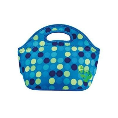 Amazon.com: BYO Rambler Lunch Bag Blue Black Green Polka Dot: Lunch