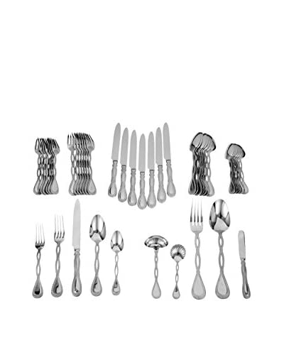 Ricci Regale Satin 45-Piece Flatware Set