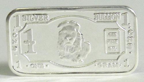 (3) 1 Gram .999 Pure Fine Solid Silver Lion '2013 Endangered Animals Series-Africa' Bullion Ingot Coin