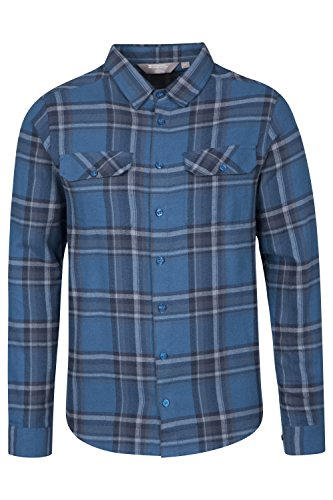 mountain-warehouse-camicia-da-uomo-a-maniche-lunghe-in-flanella-trail-blu-petrolio-xx-large
