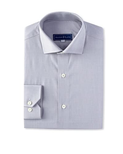 Alton Lane Men's Solid Dress Shirt with French Placket