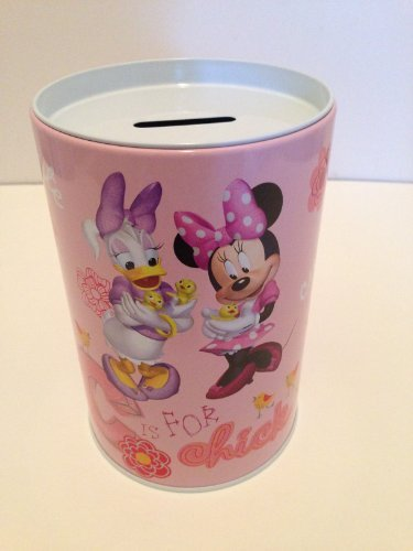 Minnie and Daisy Coin Bank for Kids - 1