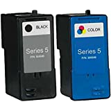 HouseOfToners 2 PK Dell Series 5 Ink Cartridge Remanufactured In USA M4640 M4646 For 922 924 944 962 964 942 (Alternative Cartridge Replacement)