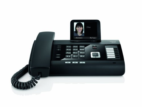 Details for Gigaset DL500A Schnurgebundenes Komfort-Telefon mit Anrufbeantworter schwarz