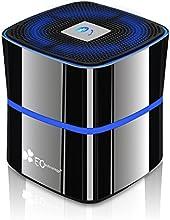 EC Technology BASS Enceinte Bluetooth 4.0 Haut-Parleur 8-12 Heures d'Autonomie Rechargable Zinc Alloy -Titane Gris