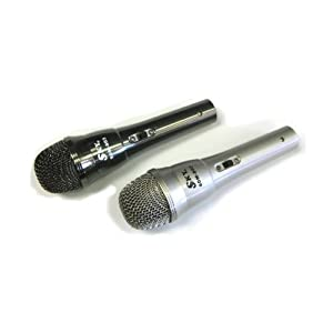 Sky SDM-803 Heavy Duty Dynamic Dual Pack (2 Microphones) Microphones with Cables Included