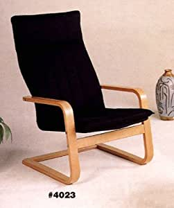 Modern retro 50s eames era style bentwood for Chaise bentwood