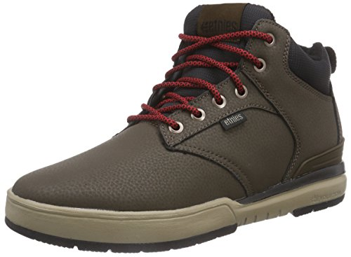 Etnies Men's High Rise LS Lace Up Shoe, Dark Brown, 8 D US