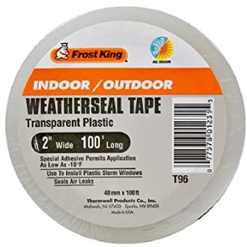 Weather Strip Tube White Thermwell Products Co Inc
