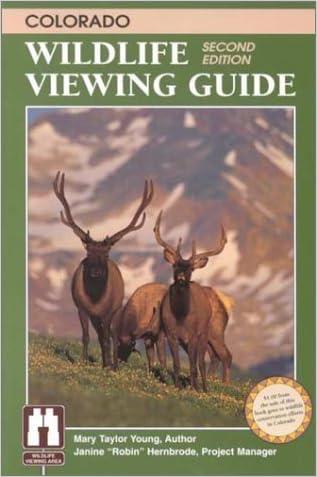 Colorado Wildlife Viewing Guide (Wildlife Viewing Guides Series)