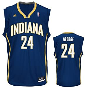 Indiana Pacers Adidas NBA Paul George #24 Youth Replica Jersey S by Unknown