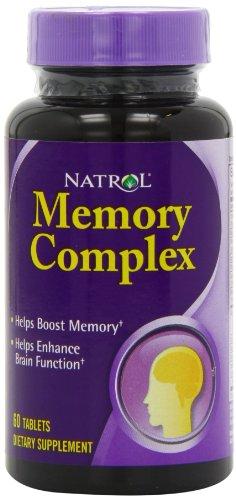 Natrol Memory Complex Tablets, 60-Count