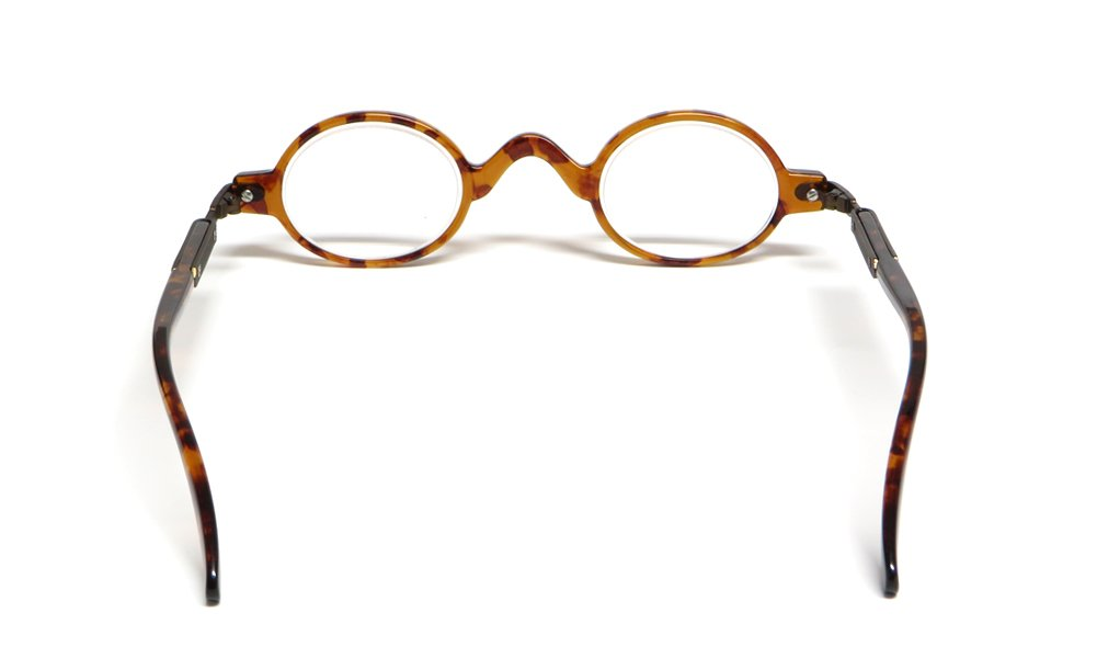 Calabria R314 Vintage Professor Oval Reading Glasses Incredibly Lightweight 3