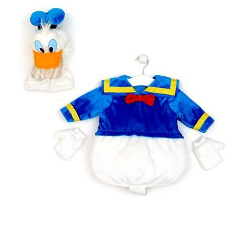 Disney original – Donald Duck – Babykostüm – Kostüm für Kinder – Alter 5/6 Jahre – Drücke Donalds Schnabel, damit er quietscht günstig bestellen