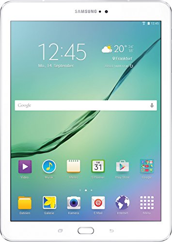 "Samsung Galaxy Tab S2 - Tablet 9.7"" (WiFi, 32 GB, 3 GB RAM, Android Lollipop), Colore Bianco"