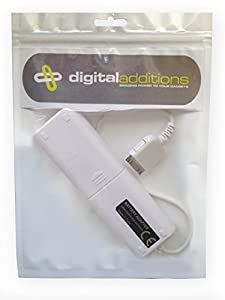 Digital Additions® Portable Power Supply & Battery Extender Charger for Apple iPhone 3G 3GS, 4, 4S, iPod, iPod Touch, Nano + any iPod with a standard Dock Connector Port)