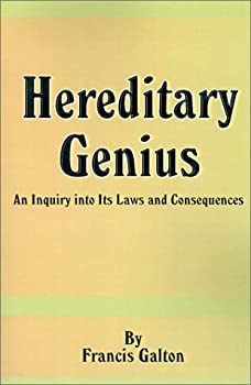"""Cover of """"Hereditary Genius: An Inquiry I..."""