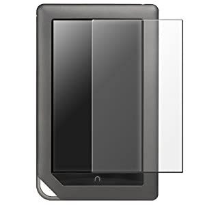 Anti-glare LCD screen shield for Barnes & Noble Nook Color (3 Pack)