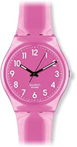 Swatch Damen-Armbanduhr XS Dragon Fruit Analog Quarz Plastik GP128