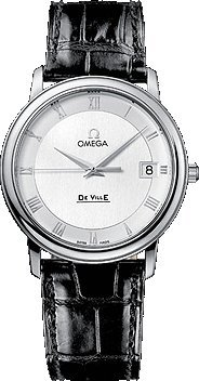 New Omega Deville Prestige Quartz Mens Watch 4810.33.01