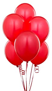 Red Balloons (6 count)