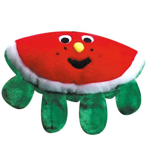 Pet Supply Imports Plush Dog Toy - Watermelon