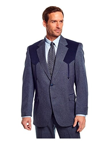 Circle S Men's Boise Western Suit Coat Short, Reg, Tall – Qrcc29 91 41
