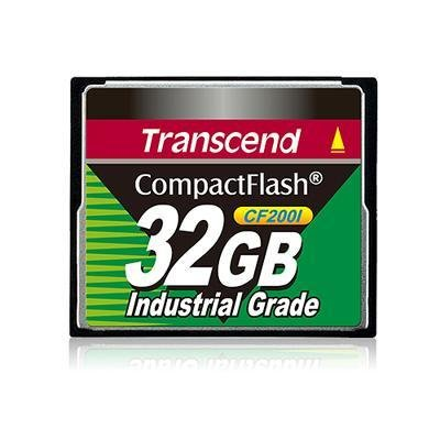 Transcend Information TS32GCF200I 32GB Compact Flash 200x Indust