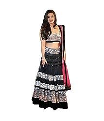 TexStile Womens Fabric Net Lehenga Choli
