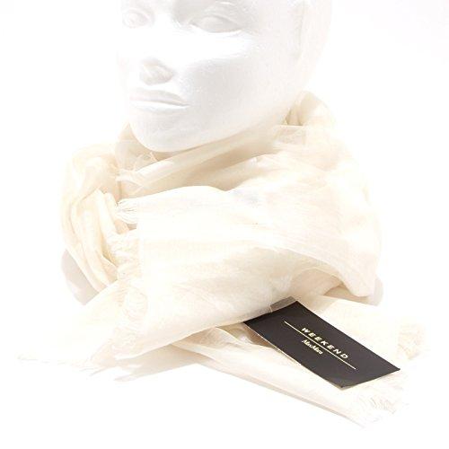 8775O sciarpa stola avorioWEEKEND MAX MARA accessori donna scarf women [Taglia UNICA]