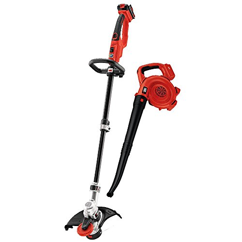 BLACK+DECKER LCC420 20V Lithium Ion String Trimmer and Sweeper Combo Kit (Blower And Weed Wacker Combo compare prices)