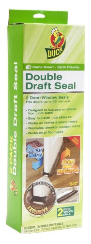 Duck Brand 1402601 Double Draft Complete Seal Set, 2-Count