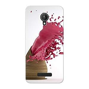 Mobile Back Cover For Micromax canvas Spark (Printed Designer Case)