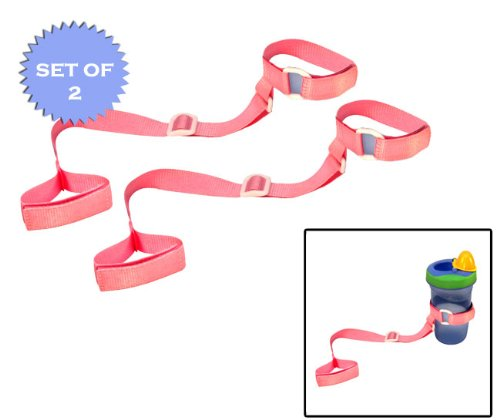 BooginHead SippyGrip Pink (Set of 2!)