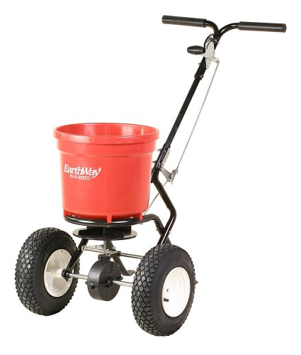 Earthway 2150 Commercial 50-Pound Walk-Behind Broadcast Spreader