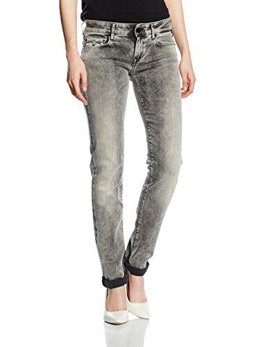 Replay Damen Slim Jeanshose Rose, Gr. W27/L32 (Herstellergröße: 27), Grau (Grey Denim 10) thumbnail