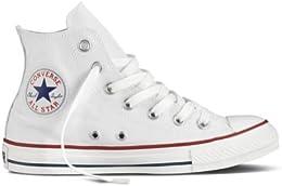 Converse Unisex Chuck Taylor All Star Hi Top Optical White Sneaker