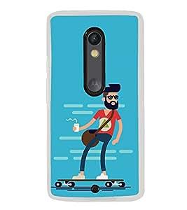 Cool Dude 2D Hard Polycarbonate Designer Back Case Cover for Motorola Moto G3 :: Motorola Moto G (3rd Gen) :: Motorola Moto G (Gen 3) :: Motorola Moto G Dual SIM (3rd Gen) :: Motorola Moto G3 Dual SIM