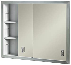contempora sliding door recessed medicine cabinet home improvement