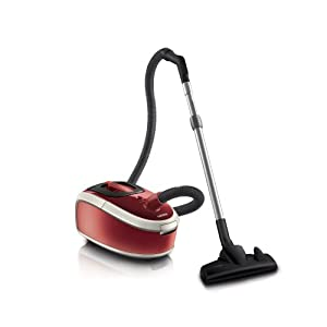 aspirateur silencieux philips fc8912 01 aspirateur avec sac homehero parquet 1800 w. Black Bedroom Furniture Sets. Home Design Ideas