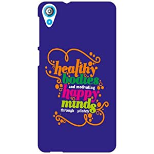 HTC Desire 820 Q Stay Healthy Matte Finish Phone Cover