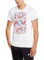 adidas Camiseta Manga Corta England Graphic Card (Blanco)